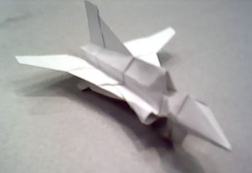 Como hacer tu propio F-15 de Papel