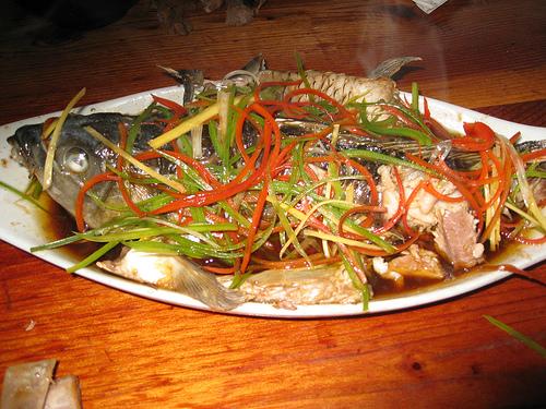 Receta para la celebraci n del a o nuevo chino de for Pescado chino
