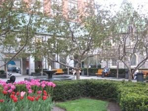 Plaza Raoul Wallenberg. Montreal, Canadá. (Fotografía Sylvia Arce)