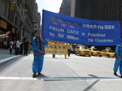 Falun Dafa se practica en 114 países (Fotografía Fidel Barrera)