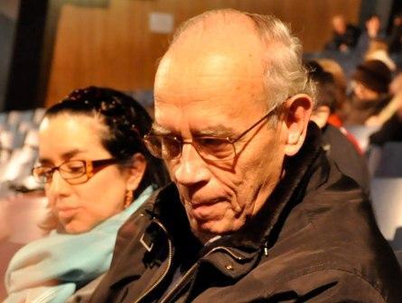 Sr. López Ramírez, representante de la FAO en Argentina, disfrutó mucho el show. (La Gran Época)