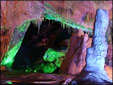 Los registros vinieron de una estalagmita encontrada en una cueva en Wanxiang, China