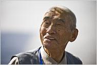 Meng Qinhua, sobreviviente de la hambruna (The New York Times)