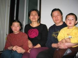 Gao Zhisheng con su familia