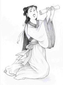 Tiying la joven valiente que salvó a su padre (Ilustrado por Blue Hsiao)