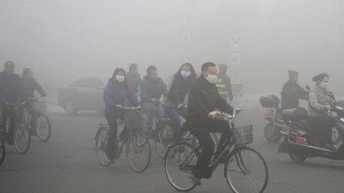 Contaminación atmosférica en China (Foto: Reuters)