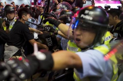 Una de las múltiples protestas de los últimos meses en Hong Kong. (Foto: Reuters)