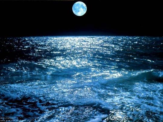 luna-mar-noche-mareas-oceano-agua