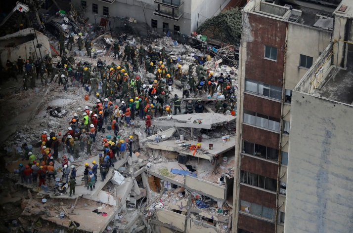 APTOPIX Mexico Earthquake Photo Gallery